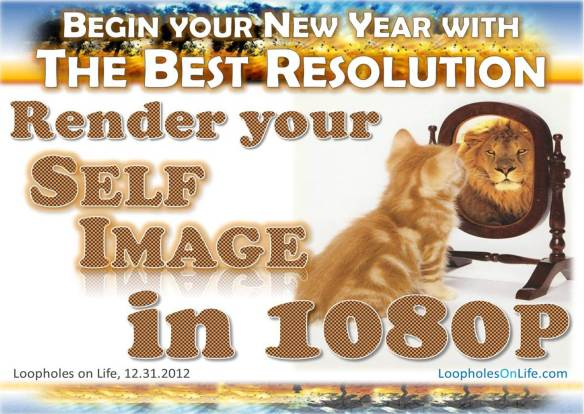 This New Years, render your self-image in 1080p -- it's a picture-perfect resolution!
