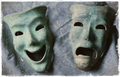Two faced, two sides - live for others, not for yourself and be happy