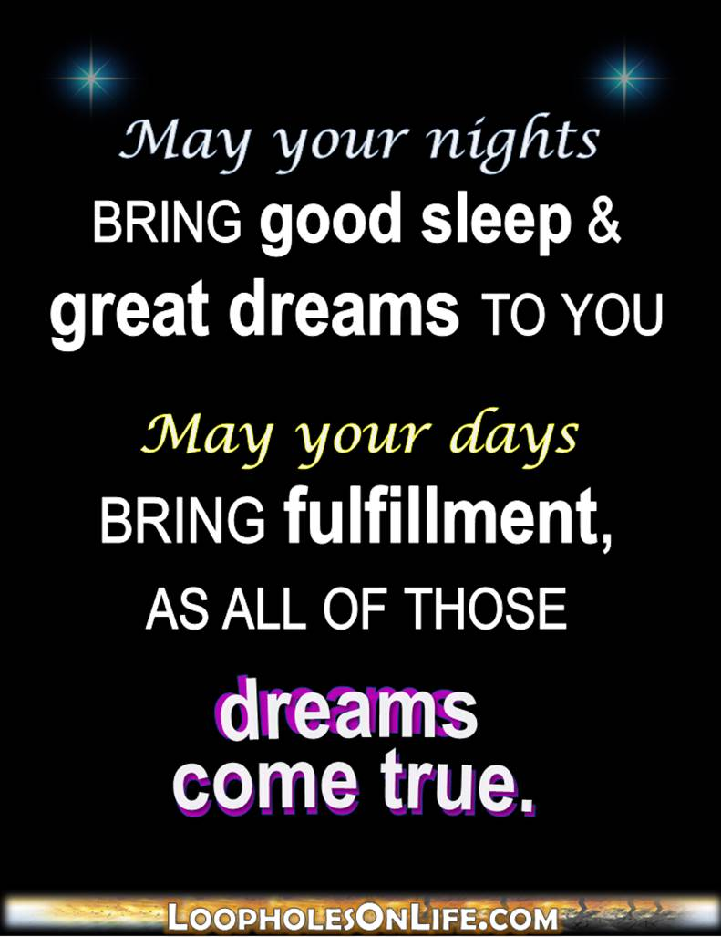 May-your-dreams-come-true-quote | Loopholes on Life